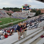 Family at Ole Miss