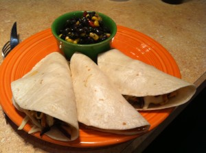 Fishook Grille Taco Plate